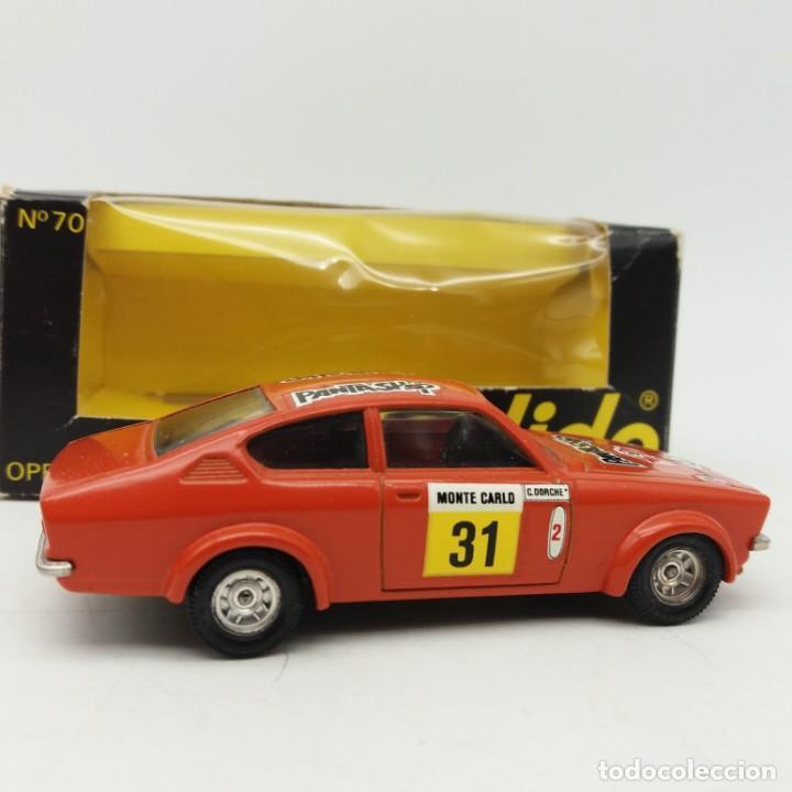 Coches a escala: Opel GTE Rallye de SÓLIDO año 1978 - No jugado - Foto 2 - 171044829