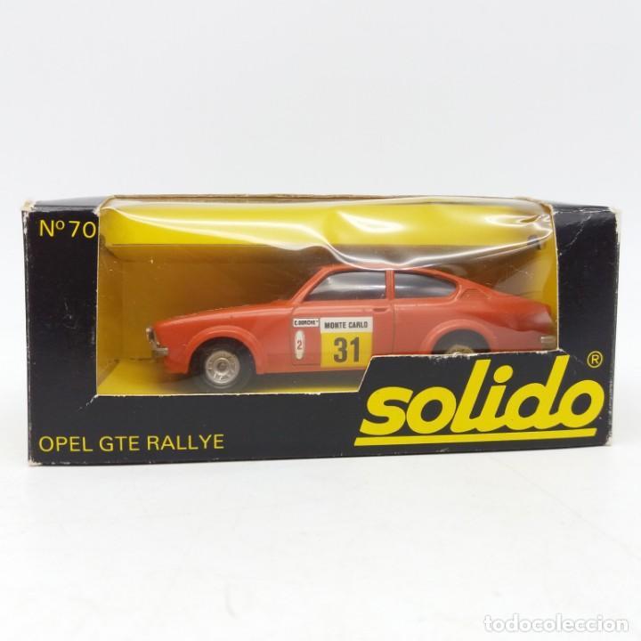Coches a escala: Opel GTE Rallye de SÓLIDO año 1978 - No jugado - Foto 3 - 171044829