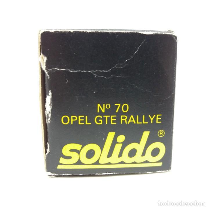Coches a escala: Opel GTE Rallye de SÓLIDO año 1978 - No jugado - Foto 4 - 171044829