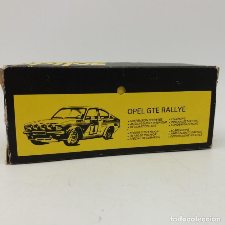 Coches a escala: Opel GTE Rallye de SÓLIDO año 1978 - No jugado - Foto 5 - 171044829