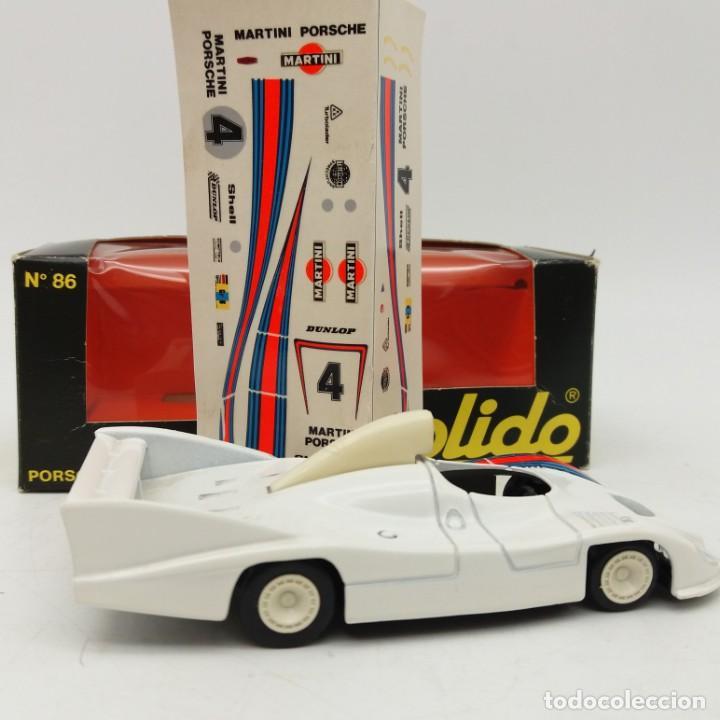 Coches a escala: Porsche 936 Le Mans 1977 de SÓLIDO año 1979 - No jugado - Foto 2 - 171045013