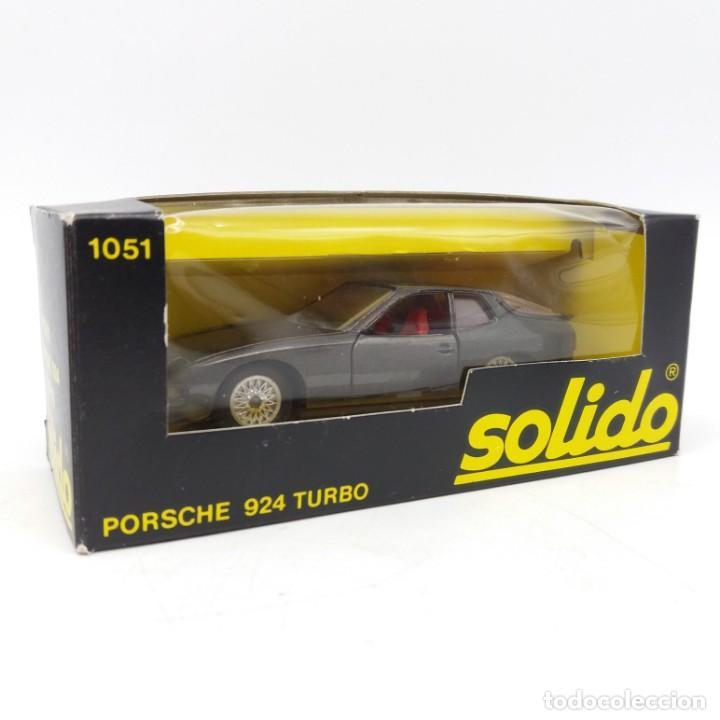 Coches a escala: Porsche 924 Turbo de SÓLIDO año 1980 - No jugado - Foto 3 - 171045297