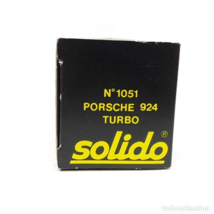 Coches a escala: Porsche 924 Turbo de SÓLIDO año 1980 - No jugado - Foto 4 - 171045297