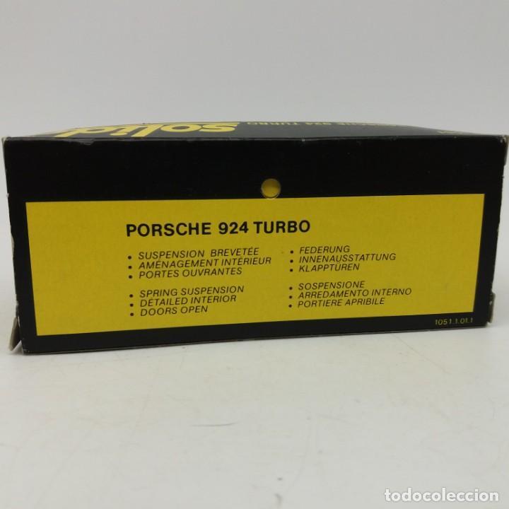 Coches a escala: Porsche 924 Turbo de SÓLIDO año 1980 - No jugado - Foto 5 - 171045297