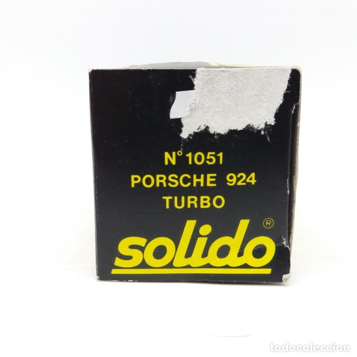Coches a escala: Porsche 924 Turbo de SÓLIDO año 1980 - No jugado - Foto 6 - 171045297