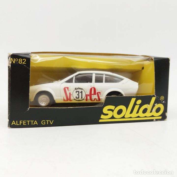 Coches a escala: Alfetta GTV de SÓLIDO año 1979 - No jugado - Foto 3 - 171046218