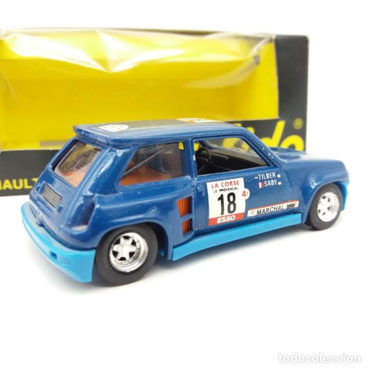 Coches a escala: Renault 5 Turbo de SÓLIDO año 1981 - No jugado - Foto 2 - 171046342