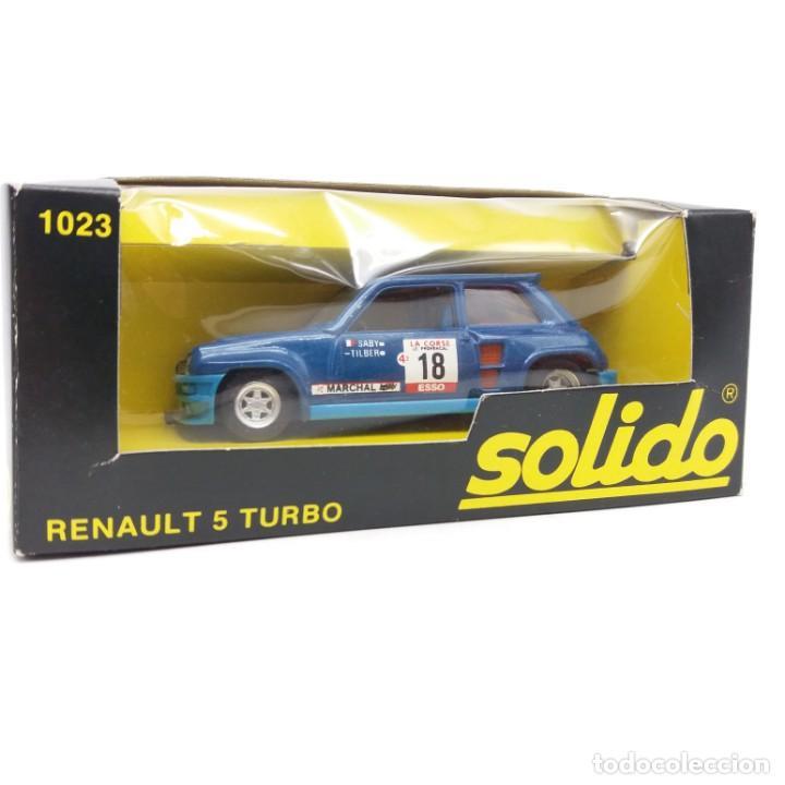 Coches a escala: Renault 5 Turbo de SÓLIDO año 1981 - No jugado - Foto 3 - 171046342