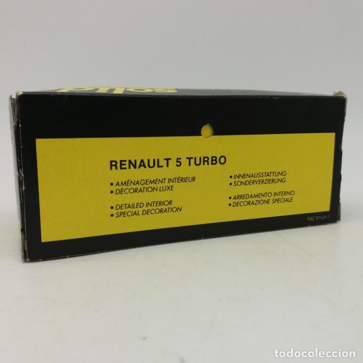 Coches a escala: Renault 5 Turbo de SÓLIDO año 1981 - No jugado - Foto 4 - 171046342