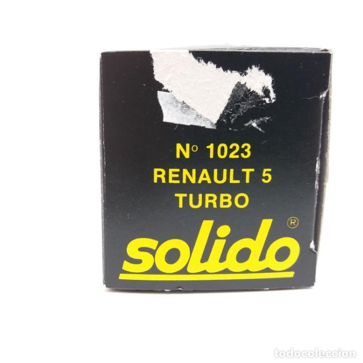Coches a escala: Renault 5 Turbo de SÓLIDO año 1981 - No jugado - Foto 5 - 171046342
