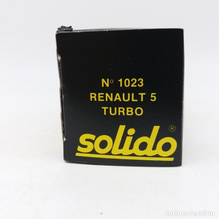 Coches a escala: Renault 5 Turbo de SÓLIDO año 1981 - No jugado - Foto 6 - 171046342