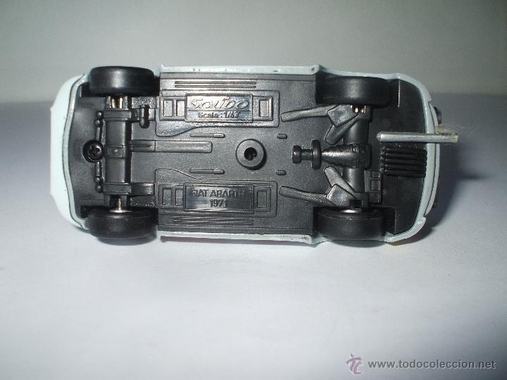 Coches a escala: FIAT ABARTH 750 cc DE SOLIDO, COLECCION SEAT 600, MUY BUEN ESTADO - FLA - Foto 3 - 173627828