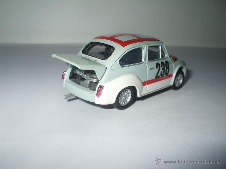 Coches a escala: FIAT ABARTH 1000 cc 1970 DE SOLIDO, COLECCION SEAT 600, MUY BUEN ESTADO - FLA - Foto 2 - 173628083