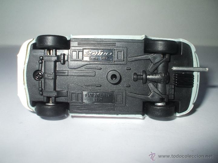 Coches a escala: FIAT ABARTH 1000 cc 1970 DE SOLIDO, COLECCION SEAT 600, MUY BUEN ESTADO - FLA - Foto 3 - 173628083