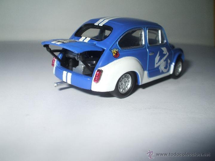Coches a escala: FIAT ABARTH 1000 cc 1971 DE SOLIDO, COLECCION SEAT 600, MUY BUEN ESTADO - FLA - Foto 2 - 173628473