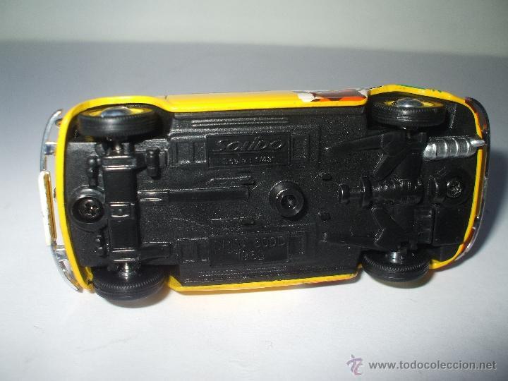Coches a escala: SEAT 600 D OLA CAO DE 1963 DE SOLIDO, COLECCION SEAT 600, MUY BUEN ESTADO - FLA - Foto 3 - 173636094
