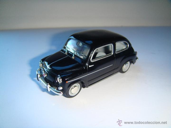 SEAT 600 D EJERCITO DE TIERRA DE 1969 DE SOLIDO, COLECCION SEAT 600, MUY BUEN ESTADO - FLA (Juguetes - Coches a Escala 1:43 Solido)