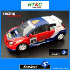 Coches a escala: METAL 1:43 TOYOTA COROLLA ANDROS PANIS BALAS SOLIDO RACING EXCLUSIVES. Lote 25525493