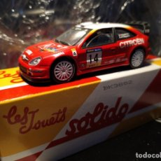 Coches a escala: COCHE ESCALA 1:43 SALVAT CON CAJA CITROEN XSARA WRC. Lote 177411022