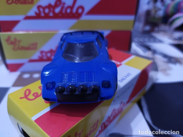 Coches a escala: Coche Escala 1:43 Salvat con caja marca sólido stratos Lancia - Foto 2 - 177800803