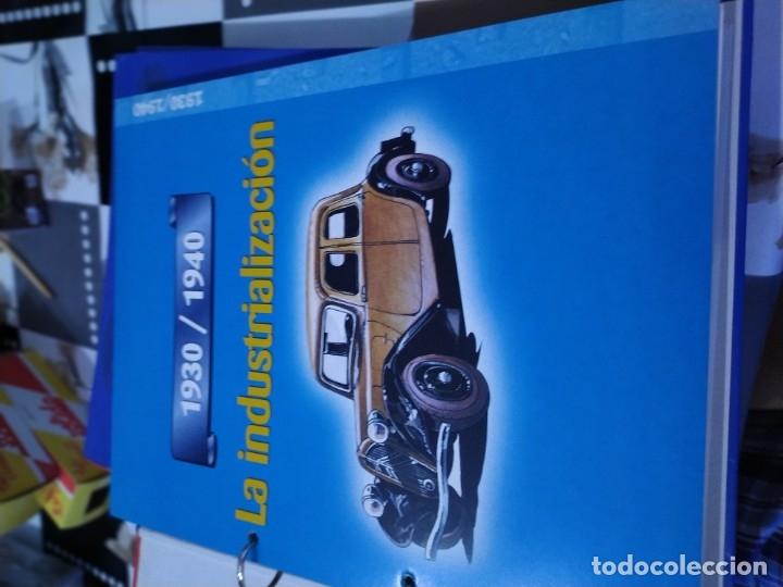 Coches a escala: Fichas de la colección Salvat coches inolvidables la industrialización 1930-1940 - Foto 2 - 177804029