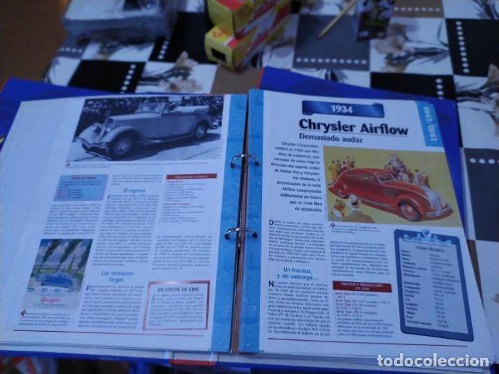 Coches a escala: Fichas de la colección Salvat coches inolvidables la industrialización 1930-1940 - Foto 4 - 177804029