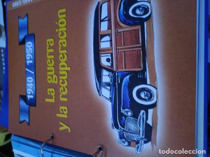 Coches a escala: Fichas de la colección Salvat coches inolvidables la industrialización 1930-1940 - Foto 5 - 177804029