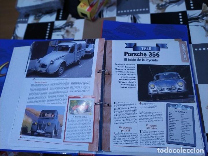 Coches a escala: Fichas de la colección Salvat coches inolvidables la industrialización 1930-1940 - Foto 6 - 177804029