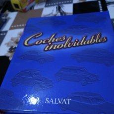 Coches a escala: FICHAS DE LA COLECCIÓN SALVAT COCHES INOLVIDABLES LA ESPERANZA RECOBRADA 1980-1990. Lote 177804392