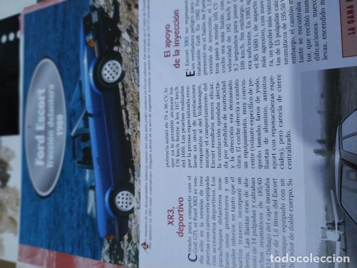 Coches a escala: Fichas de la colección Salvat coches inolvidables la esperanza recobrada 1980-1990 - Foto 3 - 177804392
