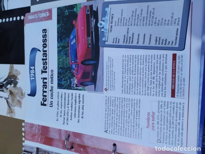 Coches a escala: Fichas de la colección Salvat coches inolvidables la esperanza recobrada 1980-1990 - Foto 4 - 177804392