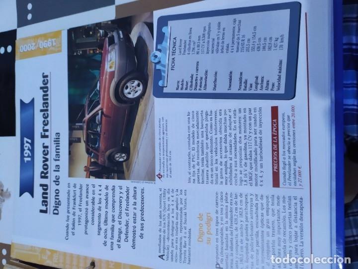 Coches a escala: Fichas de la colección Salvat coches inolvidables la esperanza recobrada 1980-1990 - Foto 6 - 177804392