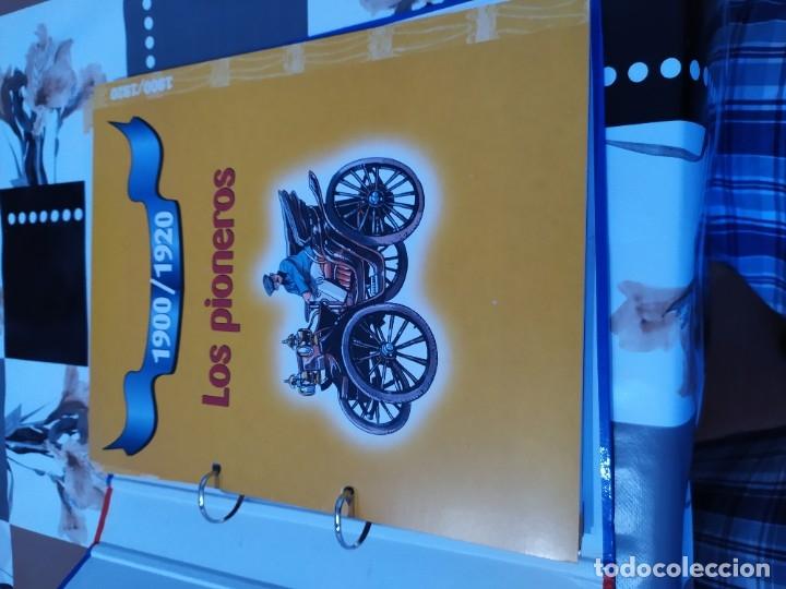 Coches a escala: Fichas de la colección Salvat coches inolvidables los pioneros 1900-1920 - Foto 2 - 177806587