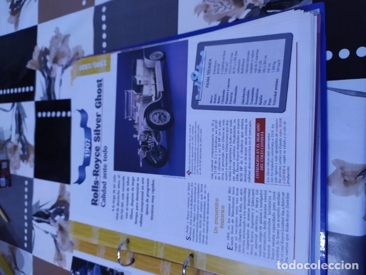 Coches a escala: Fichas de la colección Salvat coches inolvidables los pioneros 1900-1920 - Foto 4 - 177806587