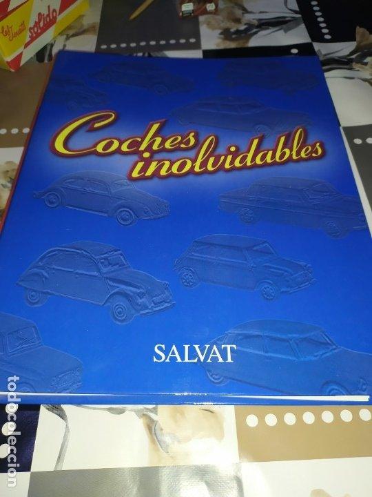 FICHAS DE LA COLECCIÓN SALVAT COCHES INOLVIDABLES LA PASIÓN DE VIVIR 1950-1960 (Juguetes - Coches a Escala 1:43 Solido)