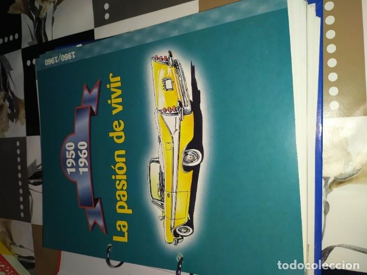 Coches a escala: Fichas de la colección Salvat coches inolvidables la pasión de vivir 1950-1960 - Foto 2 - 177807997