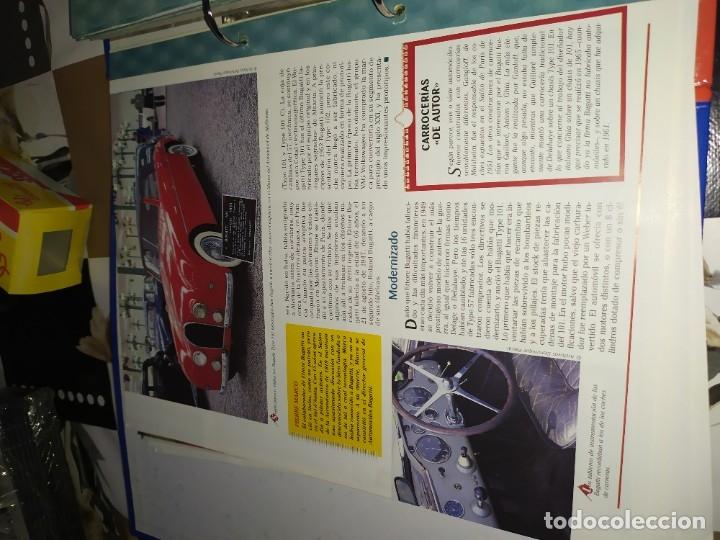 Coches a escala: Fichas de la colección Salvat coches inolvidables la pasión de vivir 1950-1960 - Foto 3 - 177807997