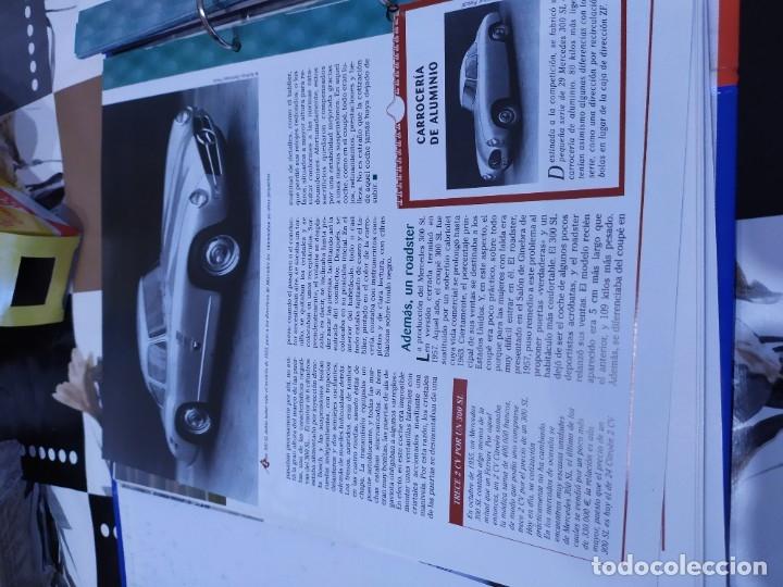 Coches a escala: Fichas de la colección Salvat coches inolvidables la pasión de vivir 1950-1960 - Foto 4 - 177807997