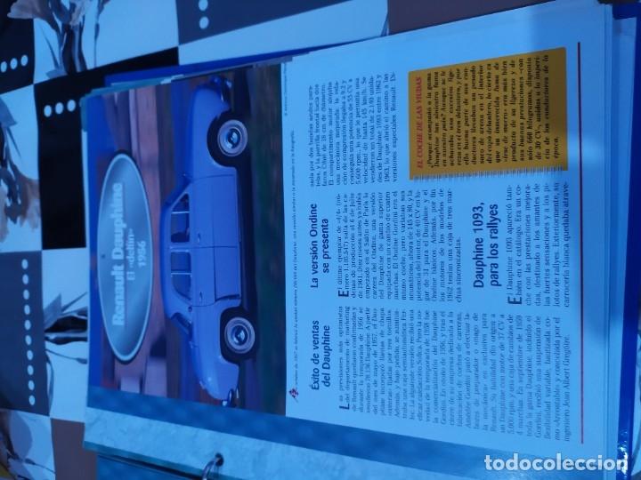 Coches a escala: Fichas de la colección Salvat coches inolvidables la pasión de vivir 1950-1960 - Foto 5 - 177807997