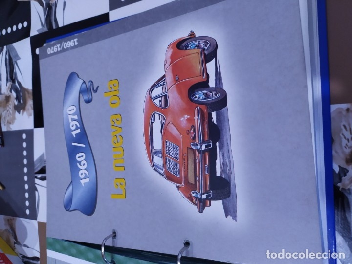 Coches a escala: Fichas de la colección Salvat coches inolvidables la pasión de vivir 1950-1960 - Foto 6 - 177807997