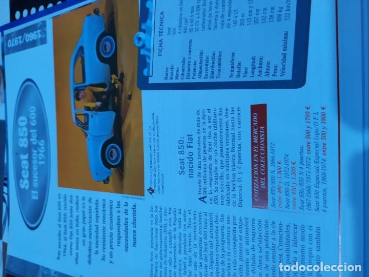 Coches a escala: Fichas de la colección Salvat coches inolvidables la pasión de vivir 1950-1960 - Foto 10 - 177807997