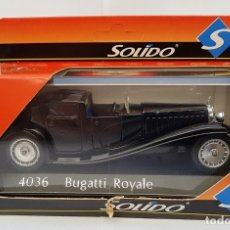 Coches a escala: BUGATTI ROYALE SOLIDO REF. 4036 DIE CAST 1/43 (MADE IN FRANCE) NUEVO. Lote 182111165
