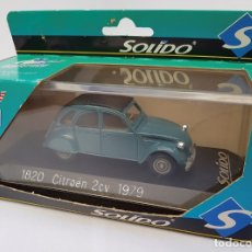 Coches a escala: CITROEN 2CV 1979 SOLIDO REF. 1820 DIE CAST 1/43 (MADE IN FRANCE) . Lote 182135468