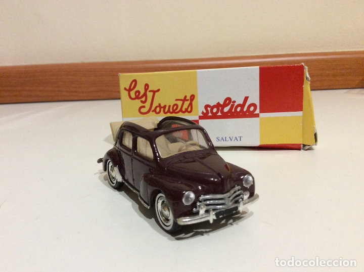 Coches a escala: Renault 4 cv salvat solido - Foto 2 - 182793855