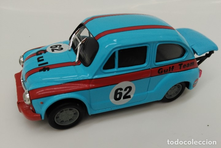 FIAT ABARTH 1000 CC - SOLIDO ESCALA 1/43 - PERFECTO ESTADO!! (Juguetes - Coches a Escala 1:43 Solido)