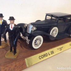 Coches a escala: SOLIDO CORD L 29 AL CAPONE 1929, RARO, ESC,1/43, SERIE ESPECIAL - FLA. Lote 182874936