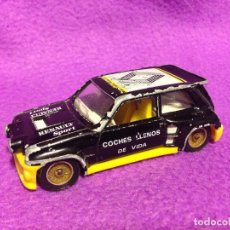 Coches a escala: RENAULT SPORT MAXI 5 TURBO SOLIDO .MADE IN FRANCE.1986.. Lote 189435802