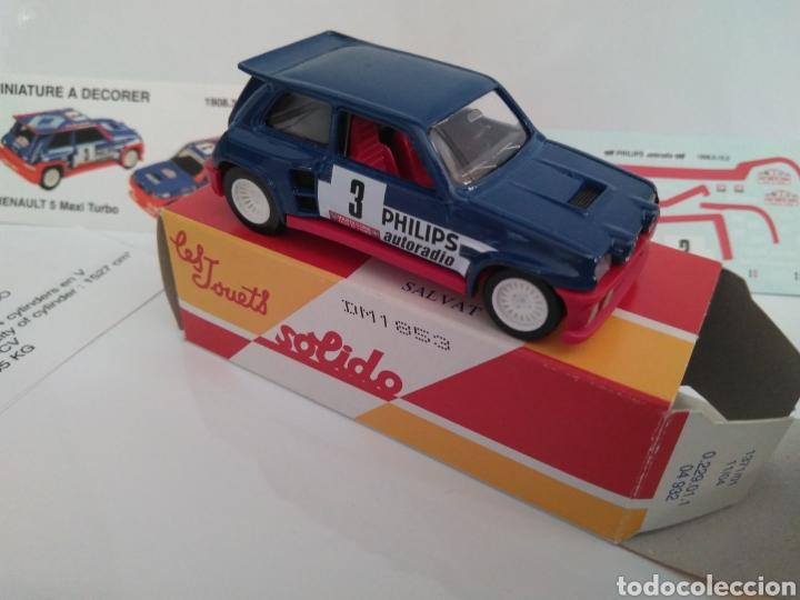 Coches a escala: Renault 5 Maxi Turbo 1:43 con calcomanias - Foto 2 - 192871298