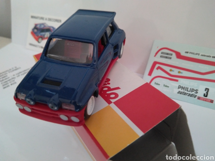 Coches a escala: Renault 5 Maxi Turbo 1:43 con calcomanias - Foto 4 - 192871298