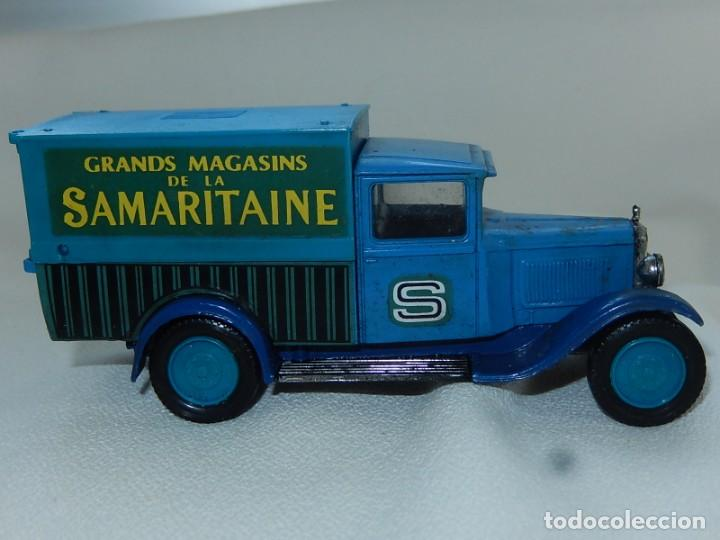 Coches a escala: Citroen C4F 1950. Samaritaine. Ref. 4409. Solido. Francia Años 1970 / 80. - Foto 17 - 194120516